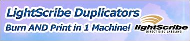 LightScribe Duplicators